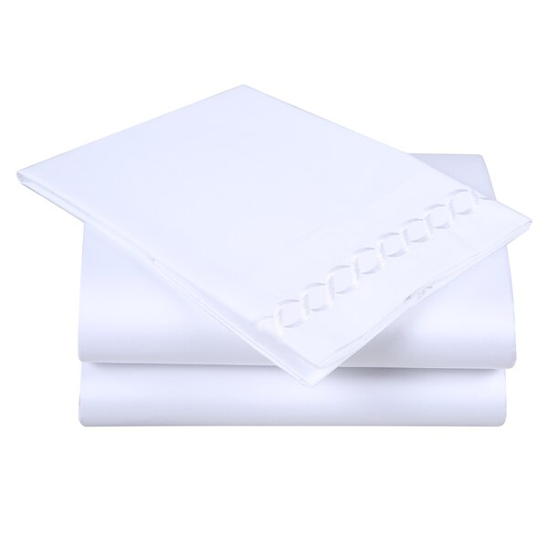 600 Thread Count 100% Cotton Sheet Set by Affluence Home Fashions